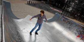 Стоп-моушен скейт
