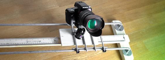 Самодельный DIY Slider for DSLR