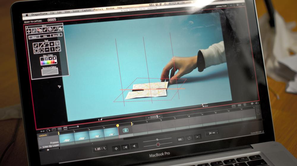 Съемка stop-motion анимации