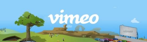 Мы на главой странице Vimeo!