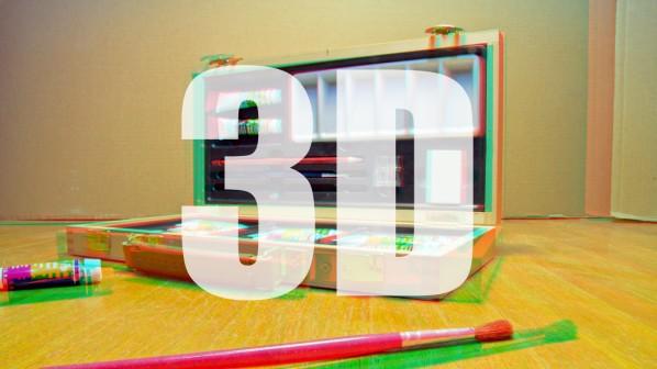Анаглифная 3D секвенция