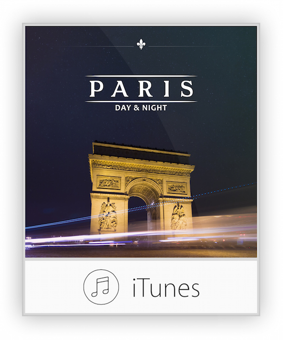 Paris day & night for iTunes